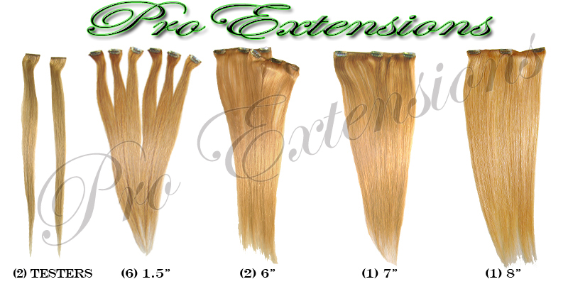 Pro Extensions has lots of hair